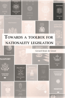 Boek Towards A Toolbox For Nationality Legislation